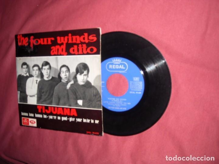 THE FOUR WINDS AND DITO EP -YOU'RE NO GOOD +3 - EP REGAL EMI 1964 // MOD BEAT GARAGE (Música - Discos de Vinilo - EPs - Grupos Españoles 50 y 60)