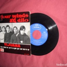 Discos de vinilo: THE FOUR WINDS AND DITO EP -YOU'RE NO GOOD +3 - EP REGAL EMI 1964 // MOD BEAT GARAGE. Lote 96998006