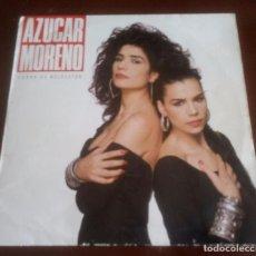 Discos de vinilo: AZUCAR MORENO - CARNE DE MELOCOTON - LP - 1988. Lote 96980463