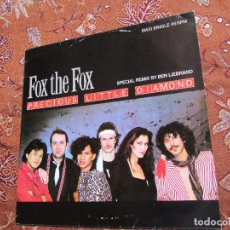 Disques de vinyle: FOX THE FOX- MAXI-SINGLE DE VINILO- TITULO PRECIOUS LITTLE DIAMOND- 2 TEMAS- PROMO- DEL 84- NUEVO. Lote 96981851