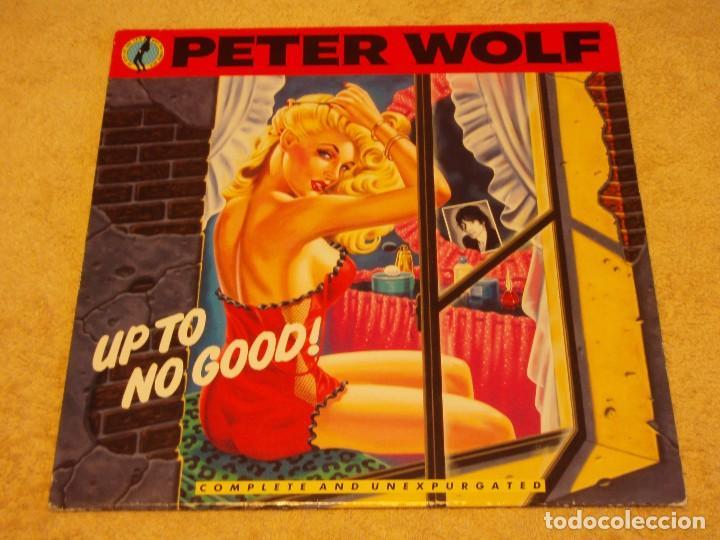 PETER WOLF – UP TO NO GOOD!, EUROPE 1990 MCA RECORDS (Música - Discos - LP Vinilo - Pop - Rock Internacional de los 90 a la actualidad)