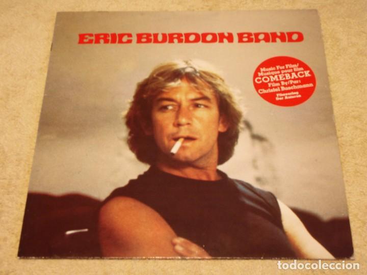ERIC BURDON BAND ( MUSIC FILM ''COMEBACK'' ) 1982-FRANCE LP33 SQUIRE RECORDS (Música - Discos - LP Vinilo - Pop - Rock - New Wave Internacional de los 80)