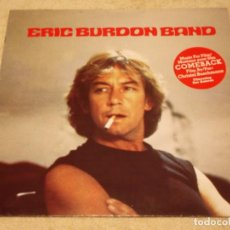 Discos de vinilo: ERIC BURDON BAND ( MUSIC FILM ''COMEBACK'' ) 1982-FRANCE LP33 SQUIRE RECORDS. Lote 96988415