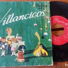 Discos de vinilo: VILLANCICOS... RIN, RIN, CANTA RIE BEBE, YA VIENE LA VIEJA.... Lote 96990687