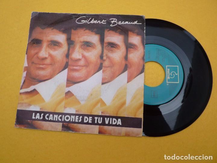 Gilbert Becaud les chansons de ta vie las canciones de tu vida (VG+/EX) 7 ç