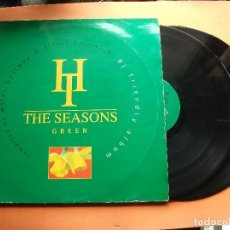 Discos de vinilo: THE SEASONS GREEN COMPILED BY MILES HOLLWAY ELLIOT EASTWICK DOBLE LP . Lote 96994991