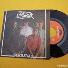 Discos de vinilo: GLAMOUR – EN SOLEDAD (EX/EX+) TOP COPY SINGLE 7 Ç. Lote 97006671
