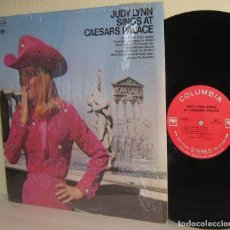 Discos de vinilo: JUDY LYNN - JUDY LYNN SINGS AT CAESARS PALACE 1969, ORG EDT USA COLUMBIA 360 SOUND, IMPECABLE. Lote 97010535