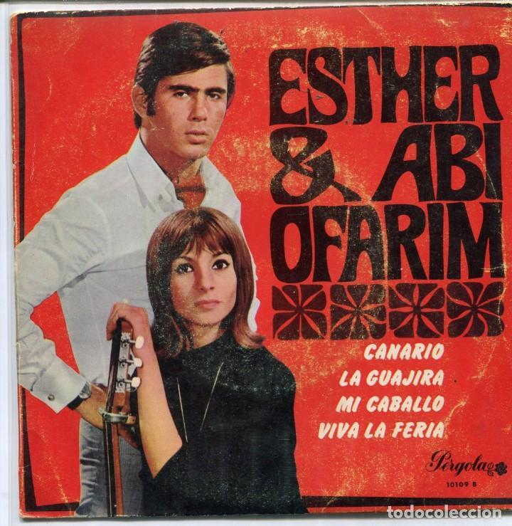 ESTHER & ABI OFARIM / CANARIO + 3 (EP PERGOLA 1968) (Música - Discos de Vinilo - EPs - Pop - Rock Internacional de los 50 y 60)