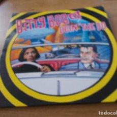Discos de vinilo: BETTY BOO. DOIN THE DO. Lote 97025399