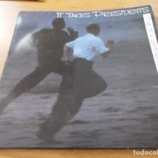 Discos de vinilo: IT TAKES PRESIDENTS. STING OF A WEDDING RING. Lote 97025799