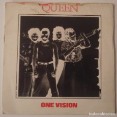 Discos de vinilo: QUEEN..ONE VISION.(EMI 1985).UK. Lote 97033475