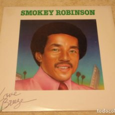 Discos de vinilo: SMOKEY ROBINSON ( LOVE BREEZE ) USA - 1978 LP33 TAMLA RECORDS. Lote 97034935