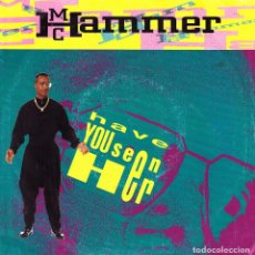 Discos de vinilo: M C HAMMER - HAVE YOU SEEN HER + HELP THE CHILDREN SINGLE 1990 EU. Lote 97045131
