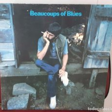 Discos de vinilo: RINGO STARR - BEATLES - BEAUCOUPS OF BLUES- LP - USA CON FOTO PROMOCIONAL- PORTADA SE ABRE. Lote 100169600