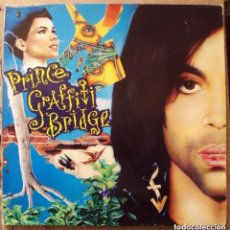 Discos de vinilo: PRINCE - GRAFFITI BRIDGE - DOBLE LP CON ENCARTES - WEA 1990 . Lote 97051391