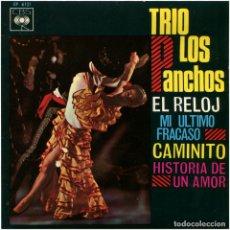 Discos de vinilo: TRIO LOS PANCHOS – EL RELOJ - EP SPAIN 1966 - CBS EP 6121. Lote 97058071