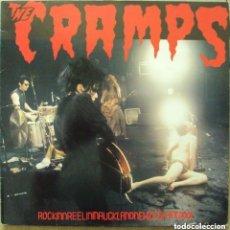 Discos de vinilo: THE CRAMPS - ROCKINREELINIUCKLANDNEWZERLANDXXX - VENGEANCE 1987 . Lote 97059071