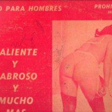 Discos de vinilo: LONG PLAY CHUCHA LA LOCA CALIENTE Y SABROSO Y MUCHO MÁS P-501. Lote 97066615