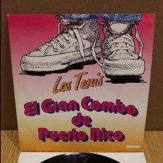 Discos de vinilo: LOS TENIS. EL GRAN COMBO DE PUERTO RICO. SINGLE-PROMO / MANZANA-1993 / LUJO ****/****. Lote 97069099