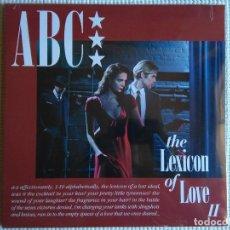 Discos de vinilo: ABC - '' THE LEXICON OF LOVE II '' LP UK 2016 SEALED. Lote 97070251