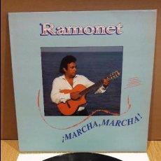 Discos de vinilo: RAMONET. MARCHA MARCHA. LP / PDI - 1991 ( PRODUCIDO POR PERET ) LUJO. ****/****. Lote 97071715