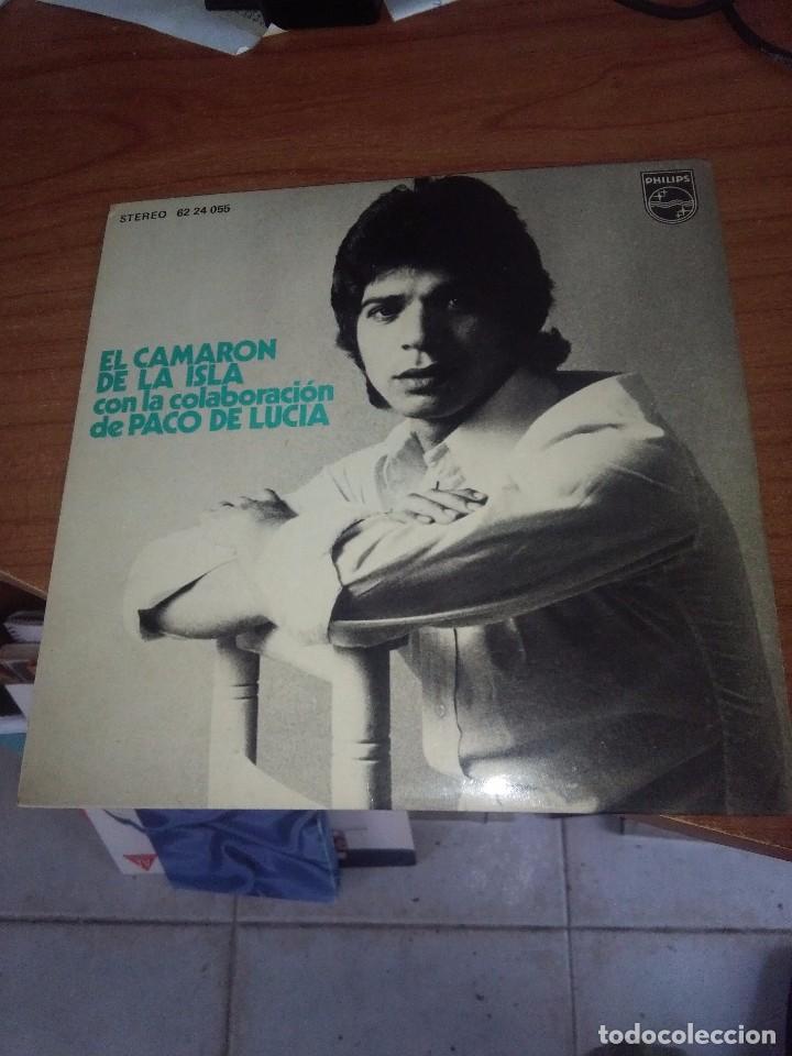 CAMARÓN DE LA ISLA CON LA COLABORACIÓN DE PACO DE LUCIA. MB3 (Música - Discos de Vinilo - EPs - Flamenco, Canción española y Cuplé)