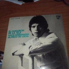 Discos de vinilo: CAMARÓN DE LA ISLA CON LA COLABORACIÓN DE PACO DE LUCIA. MB3. Lote 97082199