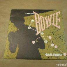 Discos de vinilo: DAVID BOWIE. BAILEMOS. Lote 97098603