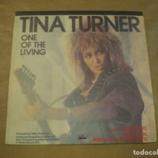 Discos de vinilo: TINA TURNER. ONE OF THE LIVING. Lote 97104095