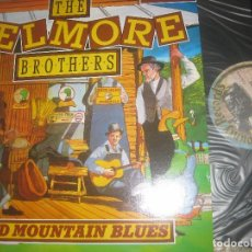 Discos de vinilo: DELMORE BROTHERS ARENA MOUNTAIN BLUES/1986 COUNTY BLUES 50S BLUES GRASSS HITBILLY OG USA. Lote 97105103