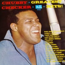 Discos de vinilo: LP CHUBBY CHECKER: GREATEST HITS (HOLANDA 1966). Lote 97106147