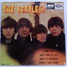 Discos de vinilo: SINGLE DE 1964 DE THE BEATLES I FEEL FINE. Lote 97108163