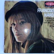 Discos de vinilo: FRANCOISE HARDY EP TU PEUX BIEN VOGUE EPL 8411 1966. Lote 97109775