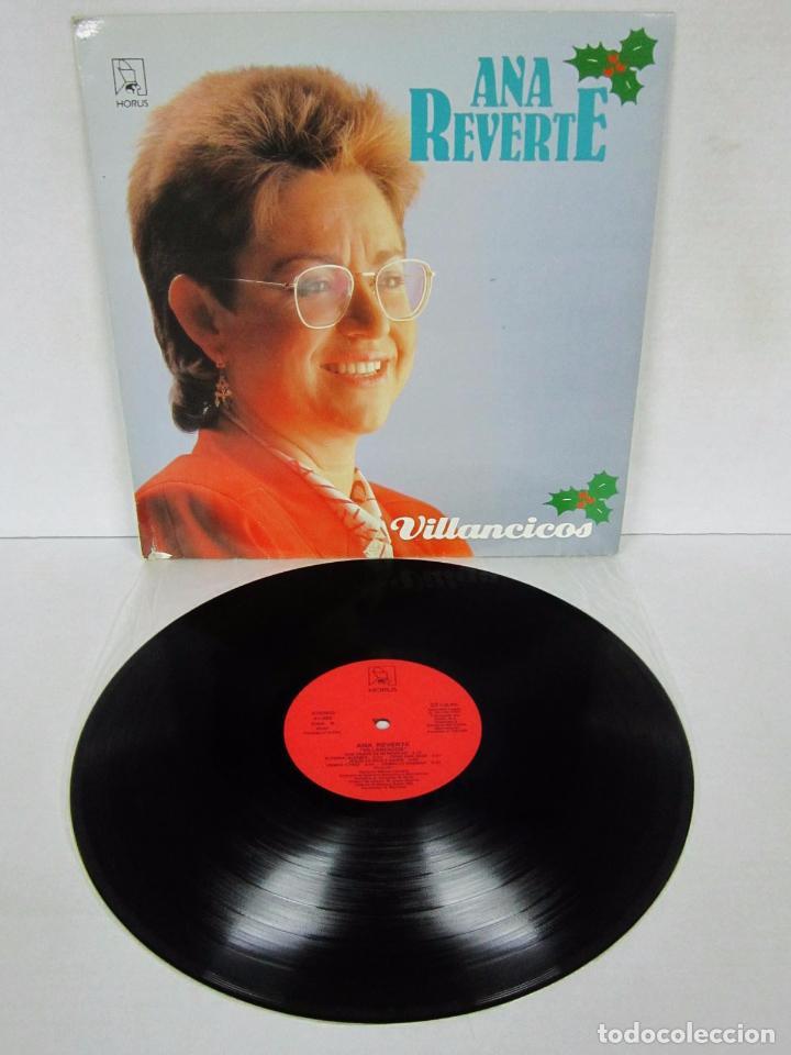 ANA REVERTE - VILLANCICOS - LP - HORUS 1987 SPAIN 41.023 (Música - Discos - LP Vinilo - Flamenco, Canción española y Cuplé)