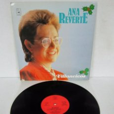 Discos de vinilo: ANA REVERTE - VILLANCICOS - LP - HORUS 1987 SPAIN 41.023. Lote 97110563