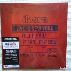 Discos de vinilo: THE DOORS - '' LIVE IN NEW YORK '' 2 LP 180GR. EU 2010 SEALED. Lote 97114839