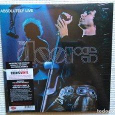 Discos de vinilo: THE DOORS - '' ABSOLUTELY LIVE '' 2 LP 180GR. REMASTERED EU 2010 SEALED. Lote 97115431
