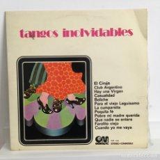 Discos de vinilo: TANGOS INOLVIDABLES. Lote 97122079