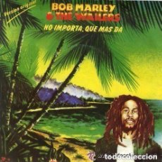 Discos de vinilo: BOB MARLEY & THE WAILERS– THREE LITTLE BIRDS - SINGLE SPAIN 1980. Lote 97127495