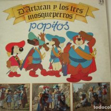 Discos de vinilo: POPITOS. D´ARTACAN Y LOS TRES MOSQUETEROS. BELTER. EXCELENTE ESTADO. CON ENCARTE.. Lote 103745611