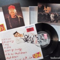 Discos de vinilo: BOY GEORGE LIMITED EDITION BOX SOLD + ARE YOU TOO AFRAID? SINGLE + POSTCARDS + SEW-ON PATCH. 1989. Lote 97137523