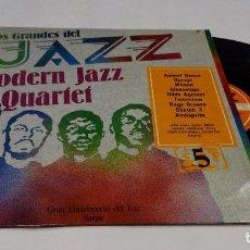 Discos de vinilo: LOS GRANDES DEL JAZZ- MODERN JAZZ QUARTET LP 1980 Nº 5. Lote 97137691