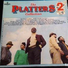 Discos de vinilo: LP THE PLATTERS : COLLECTION (2 LP). Lote 97139471