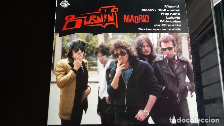 LP BURNING: MADRID (SPAIN 1991) (Música - Discos - LP Vinilo - Grupos Españoles de los 90 a la actualidad)