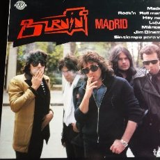 Discos de vinilo: LP BURNING: MADRID (SPAIN 1991). Lote 97141507