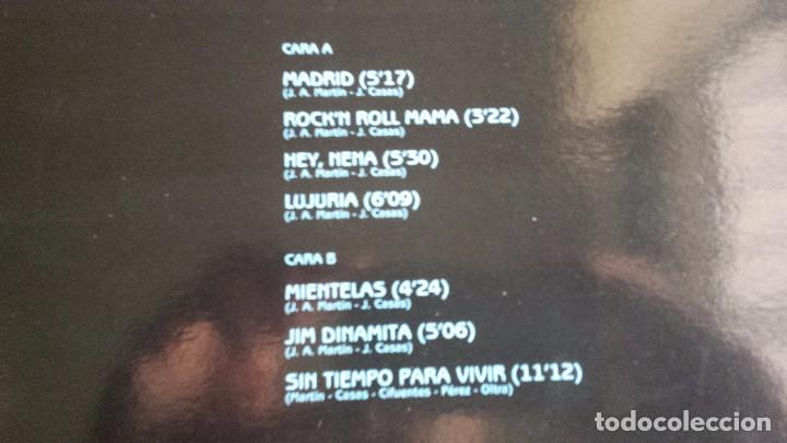 Discos de vinilo: LP BURNING: MADRID (SPAIN 1991) - Foto 3 - 97141507