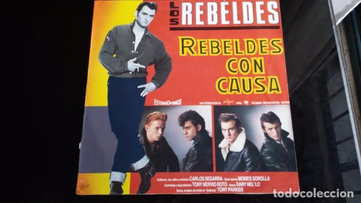 LP LOS REBELDES: REBELDES CON CAUSA (Música - Discos - LP Vinilo - Grupos Españoles de los 90 a la actualidad)