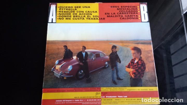 Discos de vinilo: LP LOS REBELDES: REBELDES CON CAUSA - Foto 2 - 97141951