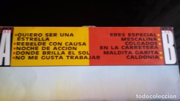 Discos de vinilo: LP LOS REBELDES: REBELDES CON CAUSA - Foto 3 - 97141951
